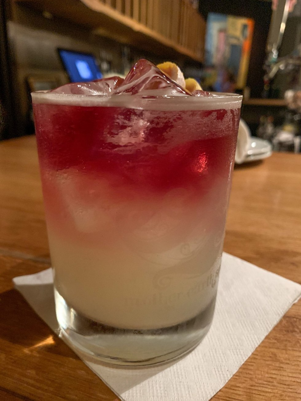 Top 5 Best Destination Restaurants in Eastern NC you Need to Try - I'm Fixin' To - @mbg0112 | Top 5 Best Destination Restaurants in Eastern NC you Need to Try by popular North Carolina blog, I'm Fixin' To: image of a cocktail drink at the Chef and the Farmer.