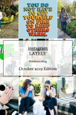 October 2019 Instagram Fashion Roundup featured by top US fashion blog, I'm Fixin' To | Welcome November + October 2019 Instagram Roundup - I'm Fixin' To - @mbg0112