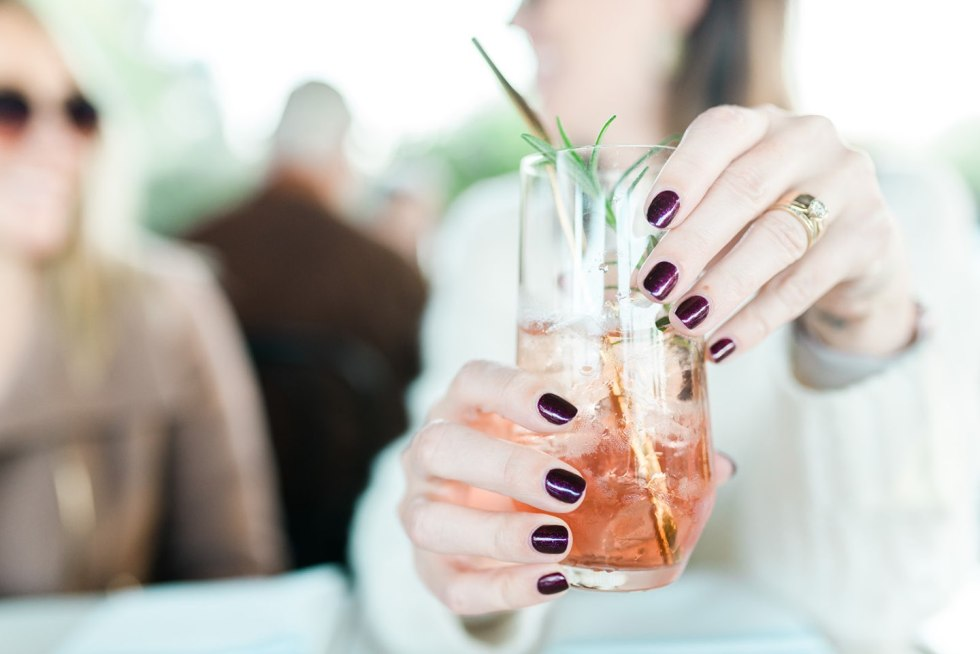 Festive Holiday Nail Ideas featured by top US life and style blog, I'm Fixin' To: OPI rich & brazilian