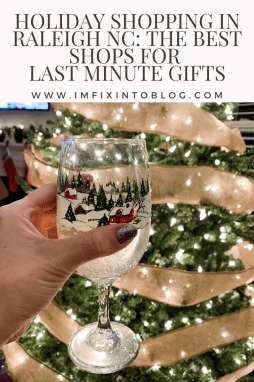 Holiday Shopping in Raleigh NC for last minute gifts featured by top NC blog, I'm Fixin' To
