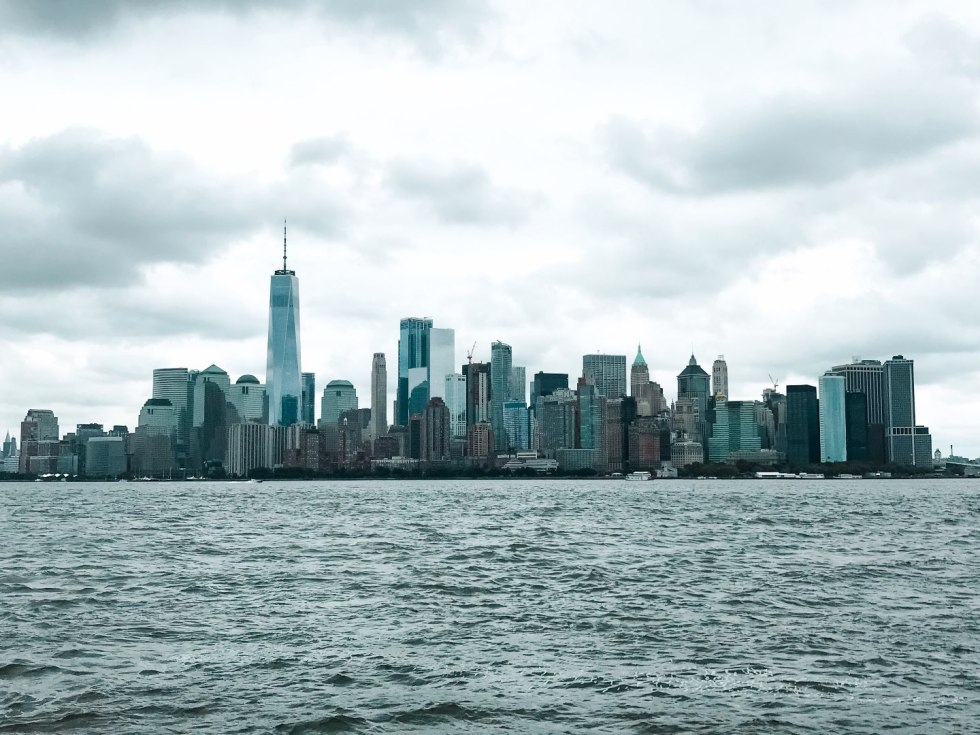 A Complete Winter Travel Packing List: all the Winter Essentials you Need - I'm Fixin' To - @mbg0112 | A Complete Winter Packing Essentials List by popular North Carolina travel blog, I'm Fixin To: image of the New York City skyline.