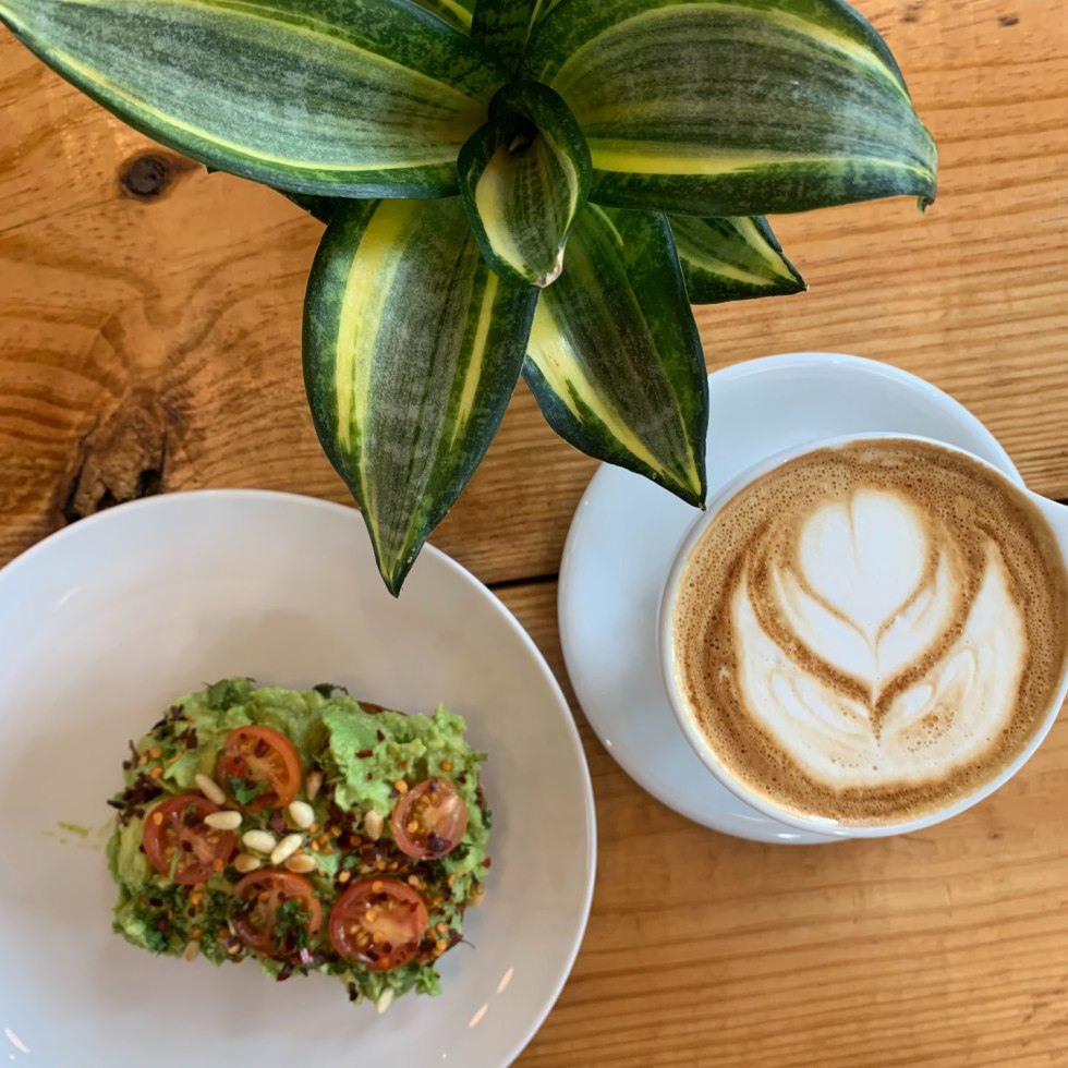 Top 10 Most Popular Blog Posts of 2019 - I'm Fixin' To - @mbg0112  Top 10 Most Popular Blog Posts of 2019 by popular North Carolina life and style blog, I'm Fixin' To: image of a cappuccino and avocado toast.