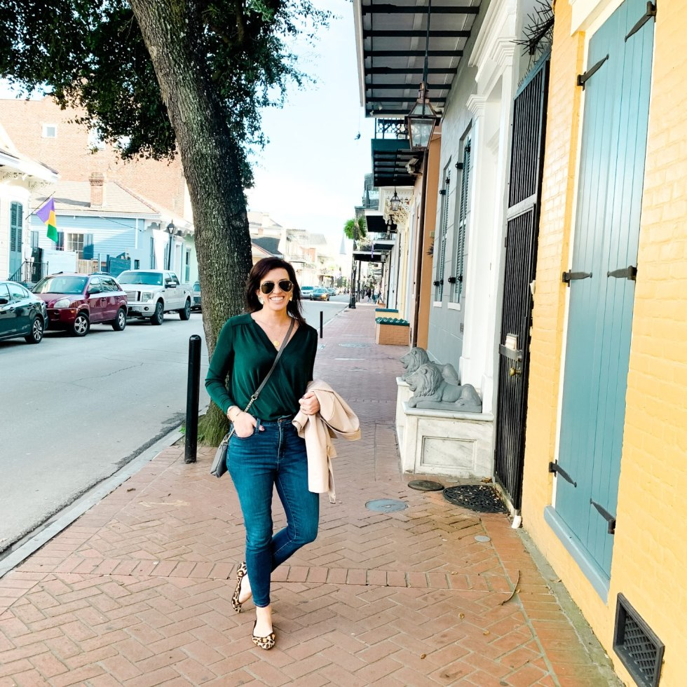 A Girls Trip to New Orleans: All the Info you Need to Prepare! - I'm Fixin' To - @mbg0112 | Girls Trip to New Orleans by popular US travel blog, I'm Fixin To: image of a woman in the French Quarter.