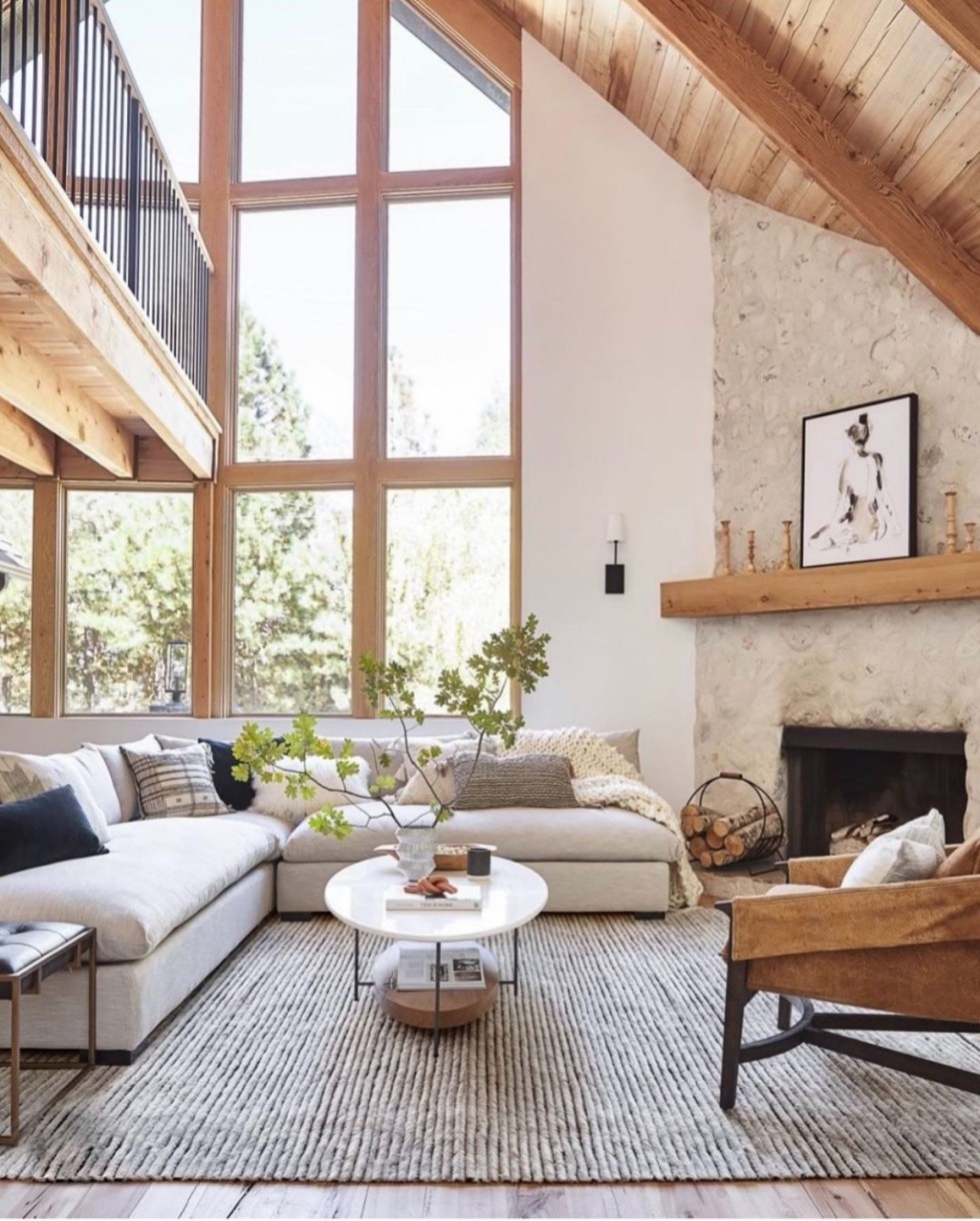 Living Room Inspiration by popular N.C. life and style blog, I'm Fixin' To: image of a Becki Owens living room.