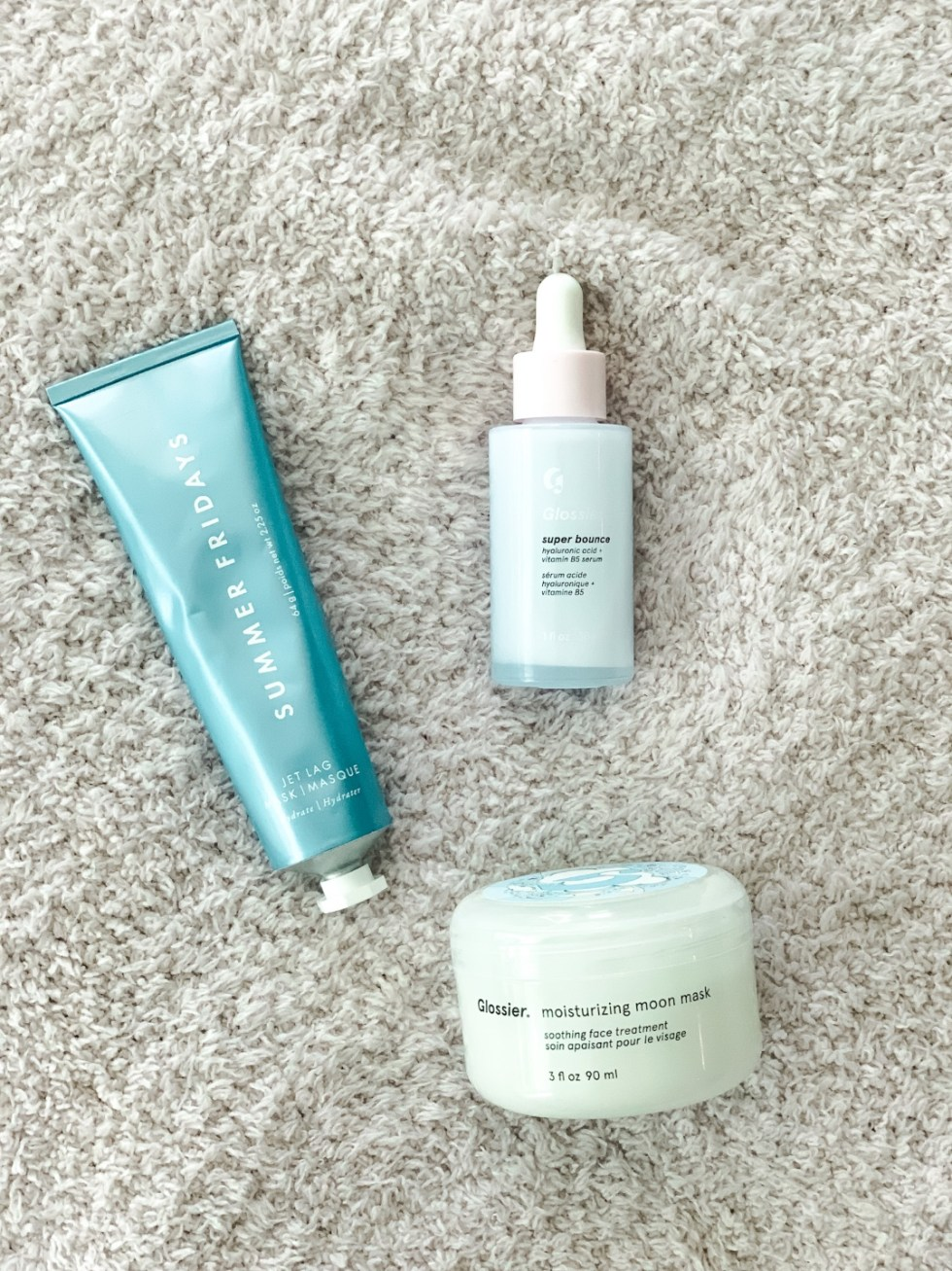 Nighttime skincare routine beauty products featured by top NC lifestyle blogger, I'm Fixin' To