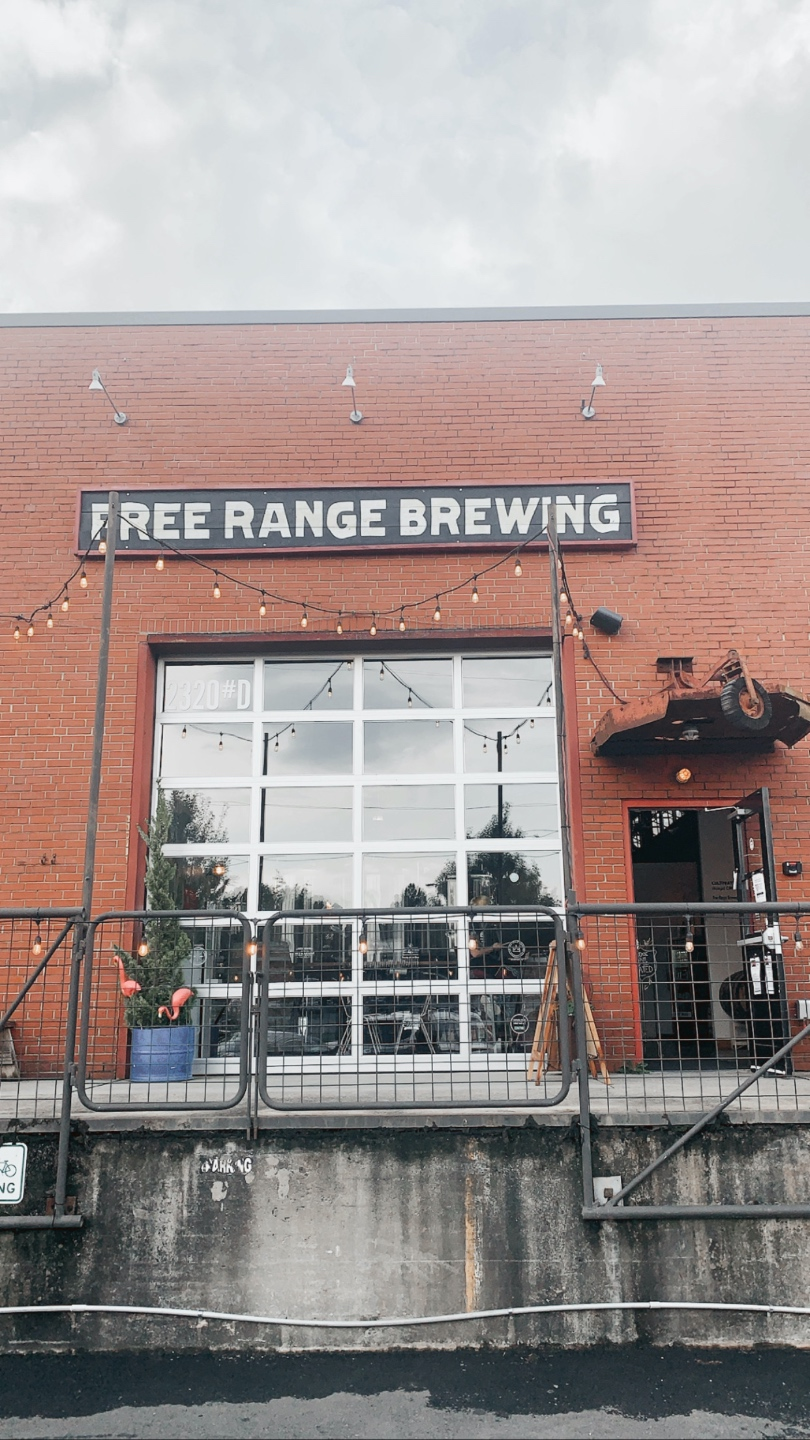 Weekend in Charlotte by popular N.C. travel blog, I'm Fixin' To: image of Heist Brewery.