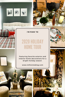 2020 Holiday Home Tour - I'm Fixin' To - @mbg0112