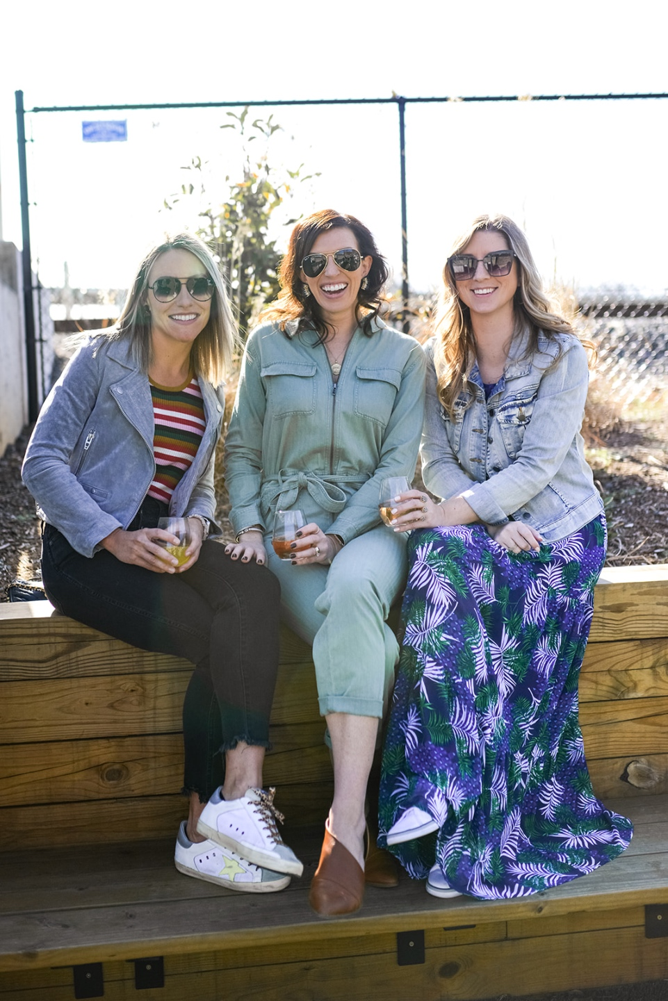 20 Moments I am Grateful for in 2020 - I'm Fixin' To - @imfixintoblog |Moments to be Grateful for by popular NC lifestyle blog, I'm Fixin' To: image of three women sitting together outside.