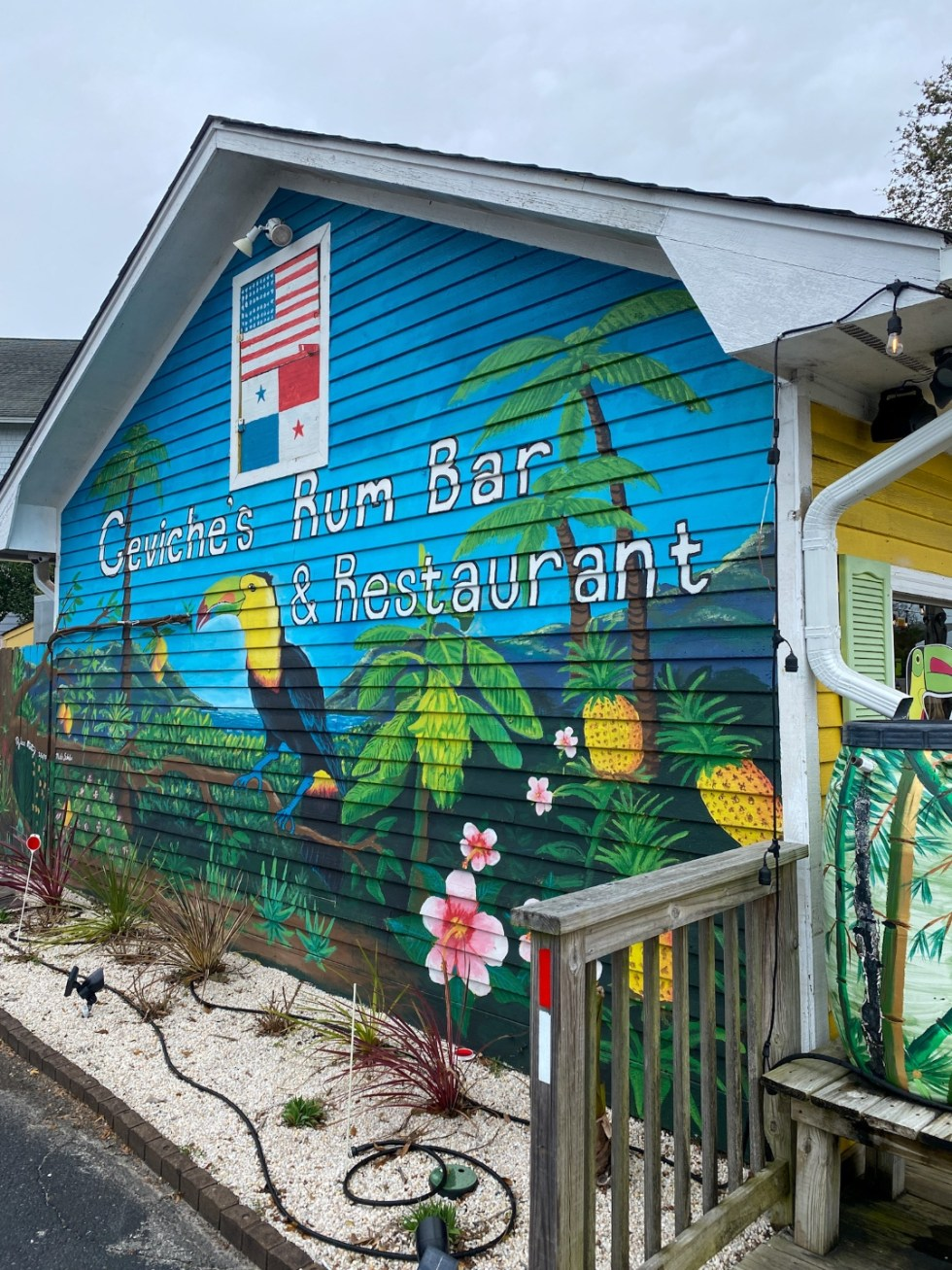 A Spring Weekend in Wilmington, NC: the Best Things to Do - I'm Fixin' To - @imfixintoblog |Weekend in Wilmington by popular NC travel blog, I'm Fixin' To: image of Ceviche's Rum Bar and Restaurant.