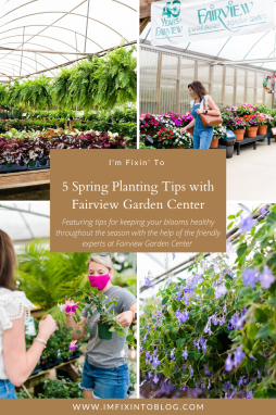 5 Spring Planting Tips with Fairview Garden Center - I'm Fixin' To - @imfixintoblog