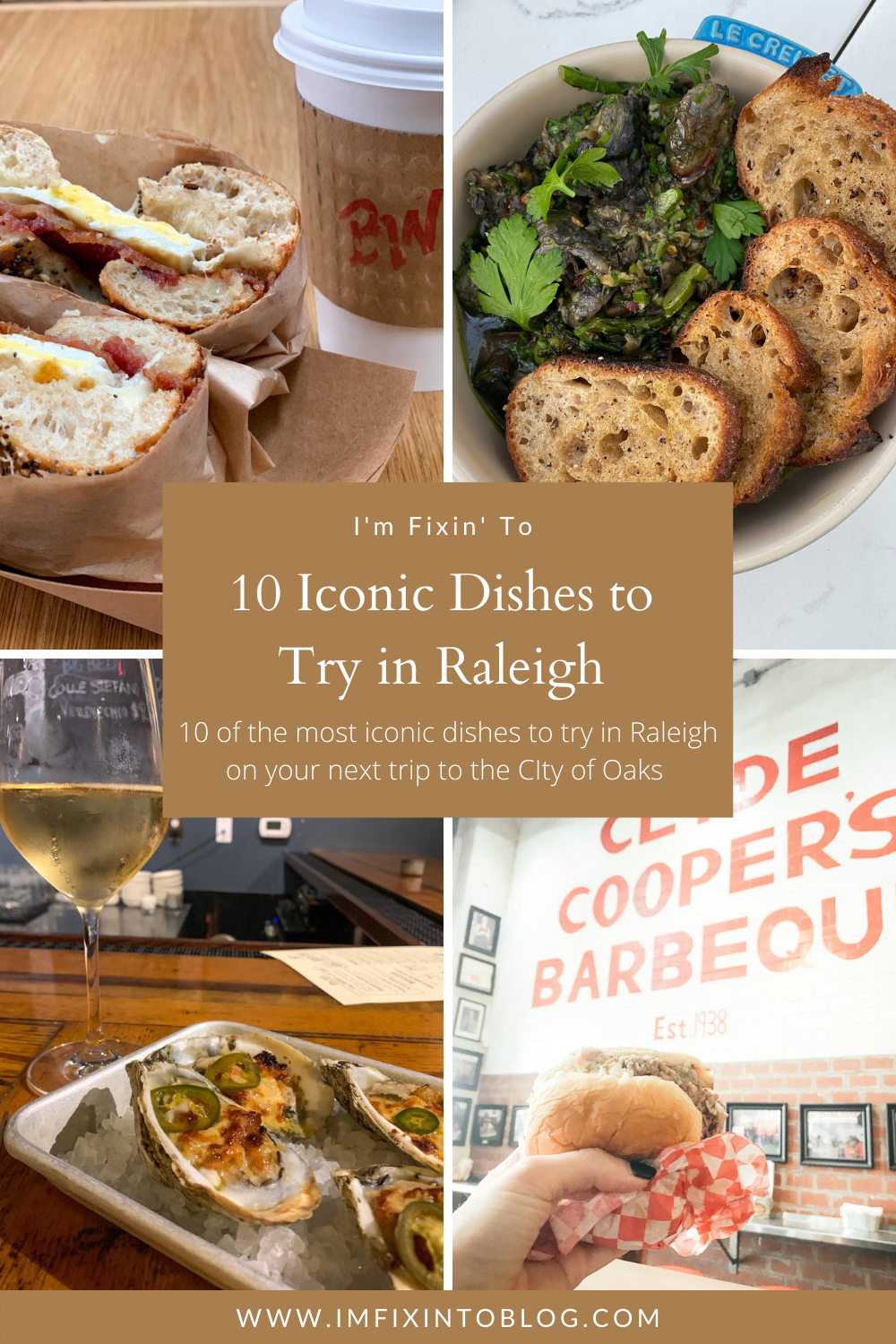 10 Iconic Dishes to Try in Raleigh - I'm Fixin' To - @imfixintoblog