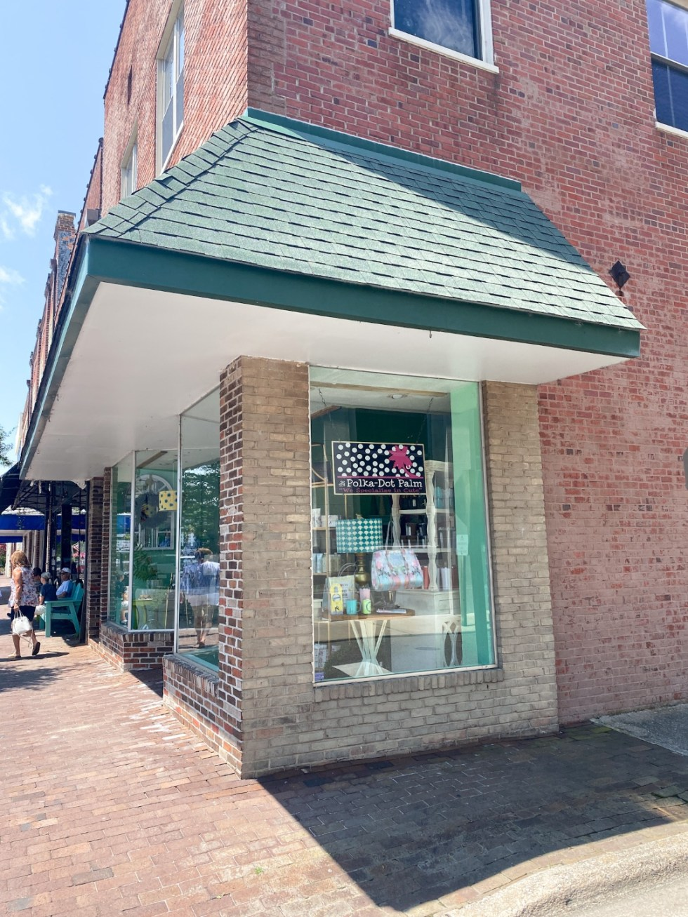 Top 10 Best Things to Do in Edenton, NC: A Complete Travel Guide - I'm Fixin' To - @imfixintoblog | Edenton Travel Guide by popular NC travel guid, I'm Fixin' To: image of Polka Dot Palm.