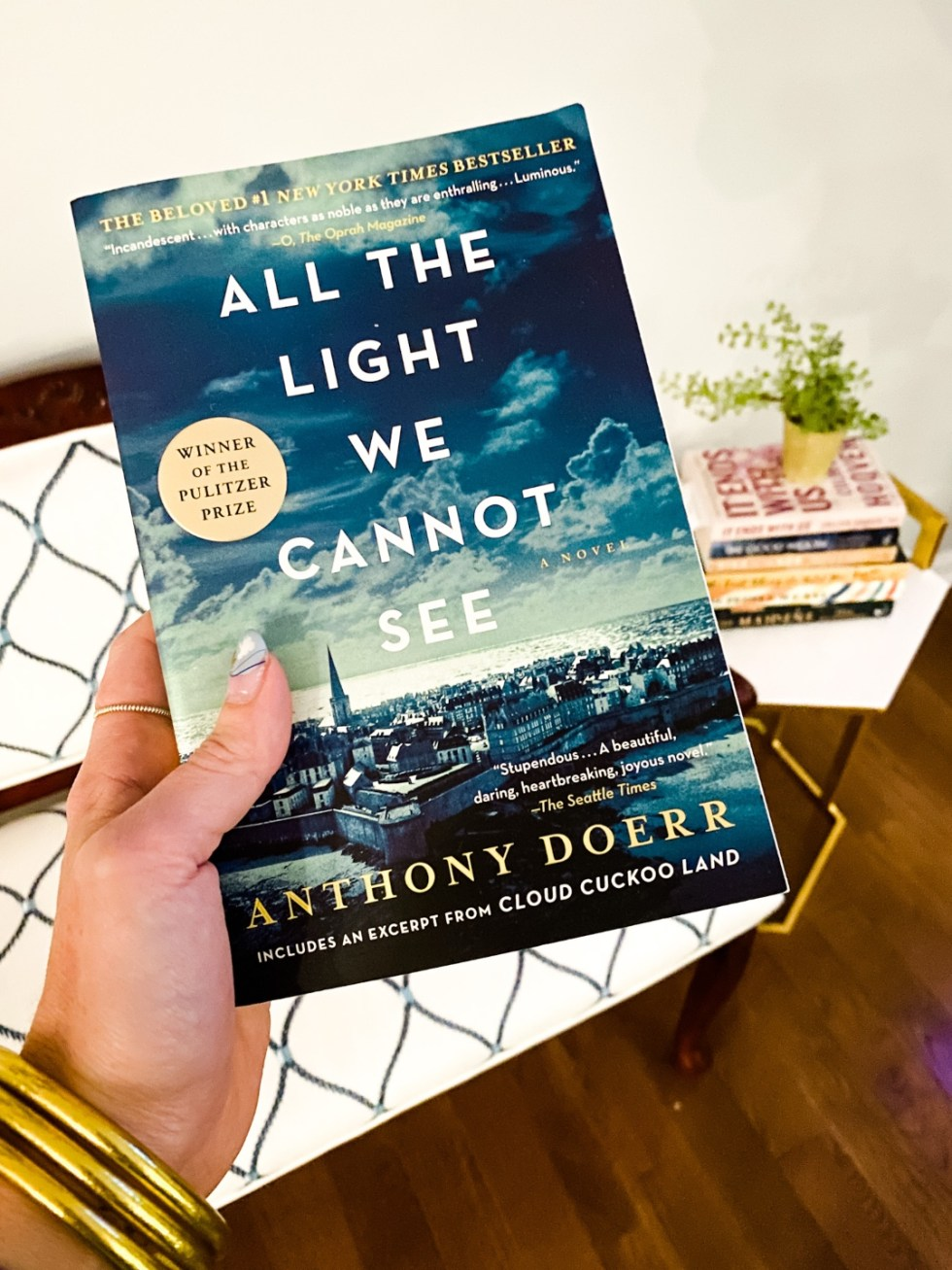2021 Reading List: What I've Read So Far - I'm Fixin' To - @imfixintoblog | 2021 Reading List by popular NC lifestyle blog, I'm Fixin' To: image of All the Light We Cannot See.