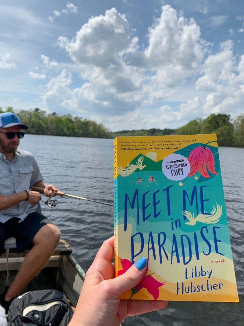 2021 Reading List: What I've Read So Far - I'm Fixin' To - @imfixintoblog | 2021 Reading List by popular NC lifestyle blog, I'm Fixin' To: image of Meet Me in Paradise.