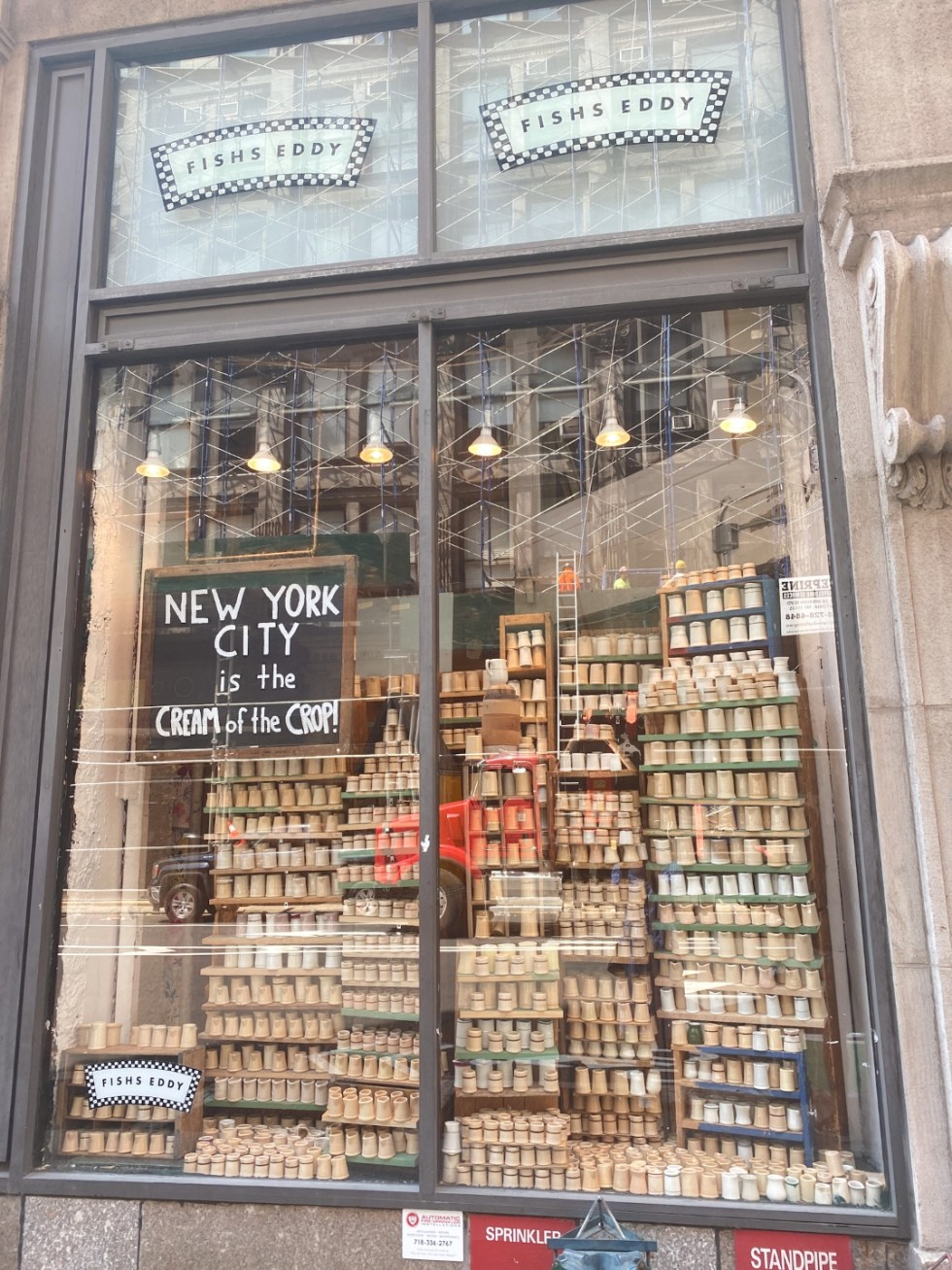 NYC Summer Weekend: Things to Do in NYC in the Summer - I'm Fixin' To - @imfixintoblog   NYC Summer Weekend by popular NC travel blog, I'm Fixin' To: image of ceramic creamers.