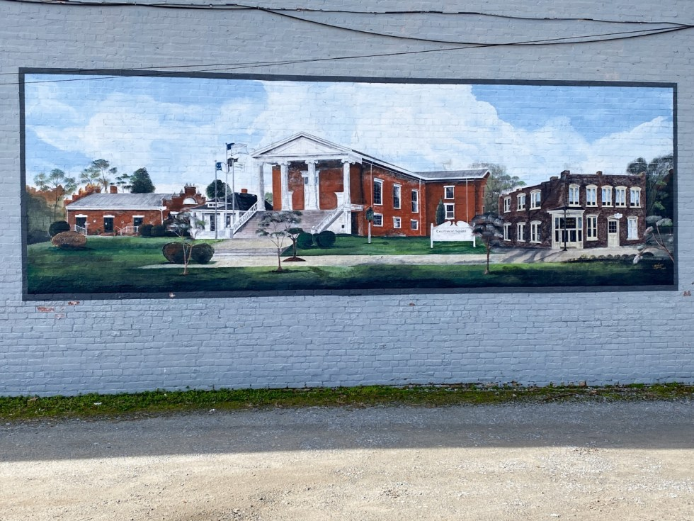 An Update on My North Carolina 100 County Tour - I'm Fixin' To - @imfixintoblog | Things to do in North Carolina by popular NC travel blog, I'm Fixin' To: image of a Northampton wall mural.