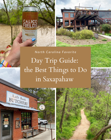 Best Things to Do in Saxapahaw in a Day, a travel guide featured by top NC blogger, I'm Fixin' To