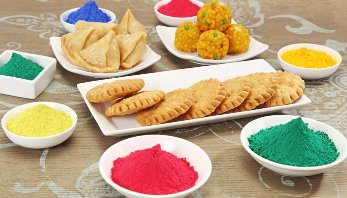 Foods in Holi