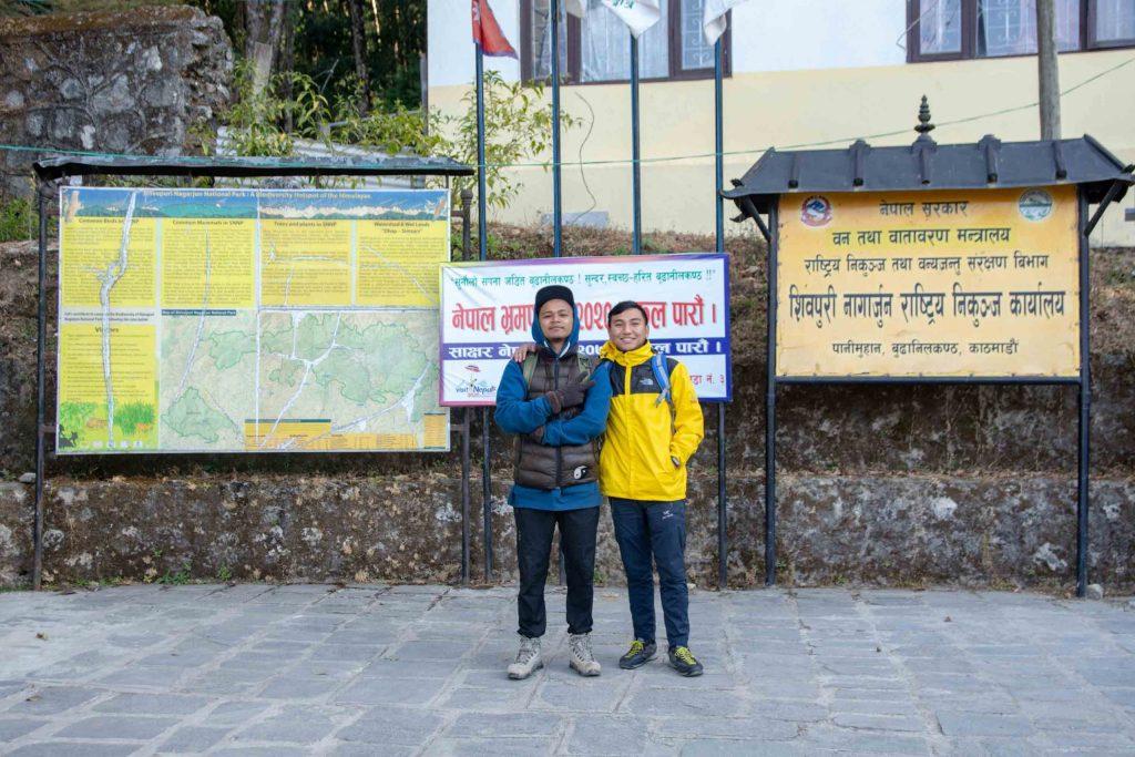 Shivapuri Nagarjun National Park, Budhanilkantha Kathmandu