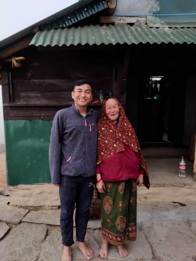 Shy Bajai at Bhujung Village, Lamjung, Nepal