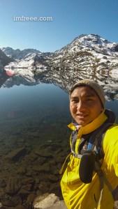 Selfie at Gosaikunda Lake