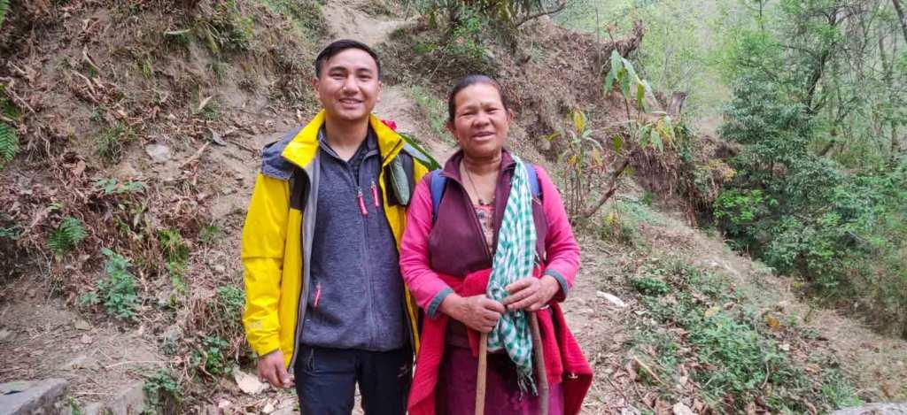 Sherpa Auntie from Helambu Melamchi Ghyang