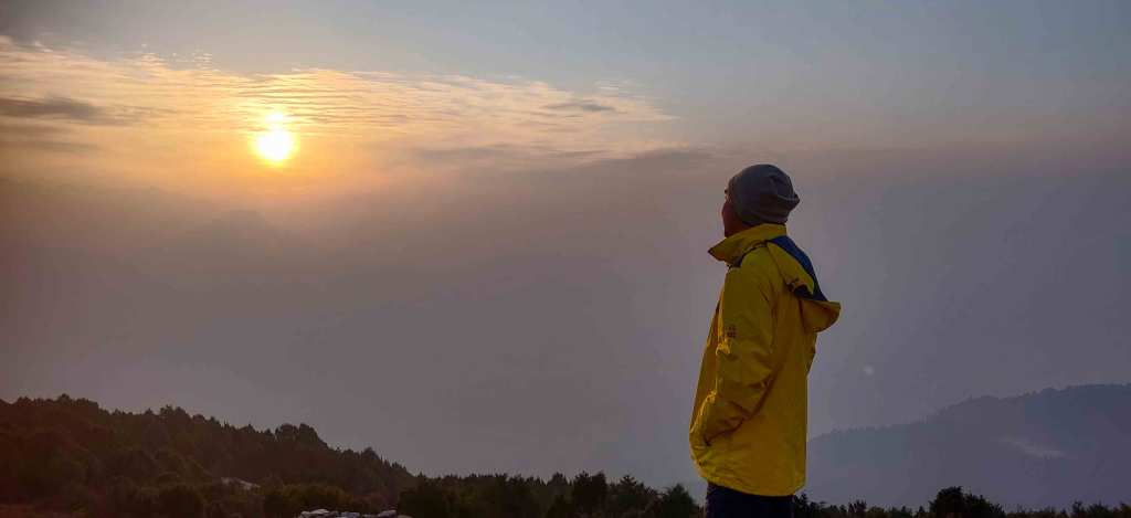 Sunrise at Thadepati