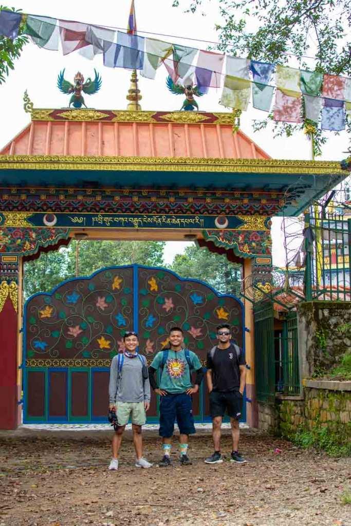 Monastery on the way to Dahachowk