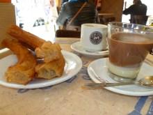 churros y cafe