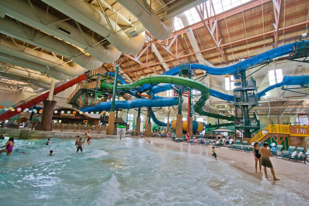 Awesome Indoor Waterpark