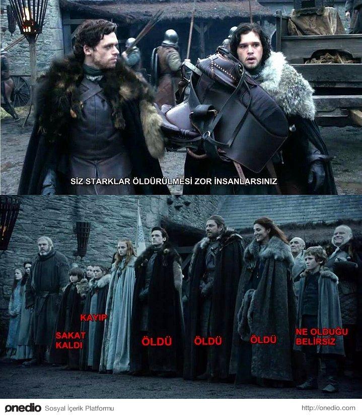 Game of Thrones İçin Yapılmış Birbirinden Komik 35 Caps Daha