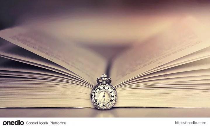 Kitap okurken zamanın nasıl geçtiğinin farkına varmazsınız. Saatlerce kitap okuduğunuzu kafanızı kitaptan kaldırınca farkedersiniz.