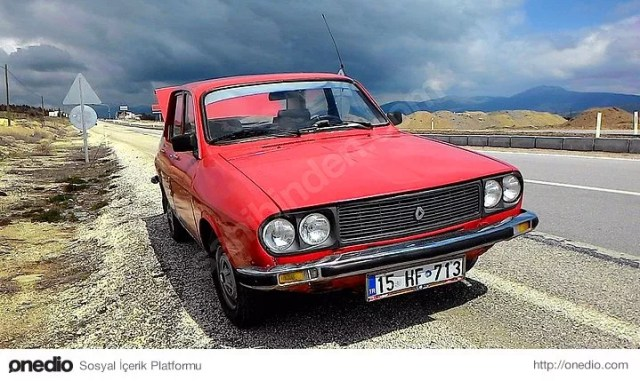 73 Model Renault 12