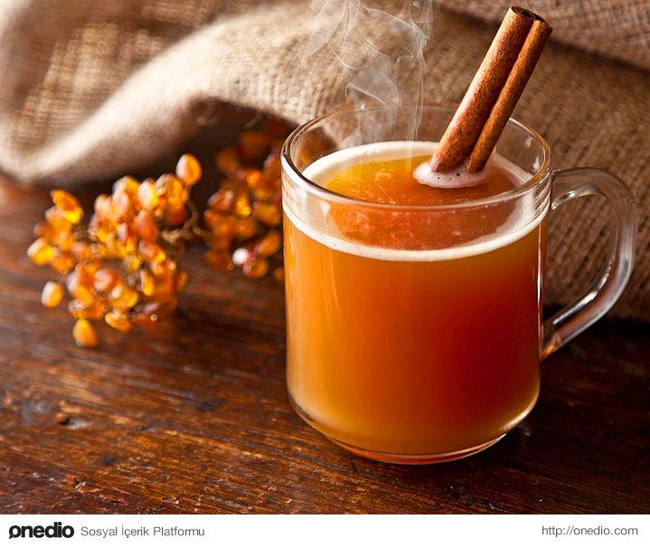 Portakal-elma çayı