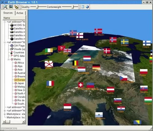 Download the latest version of Earth 3D free in English on CCM Precise view  It is a way to have a 3D view of the world at a real time and  in various angles  Also  there is a possibility to see