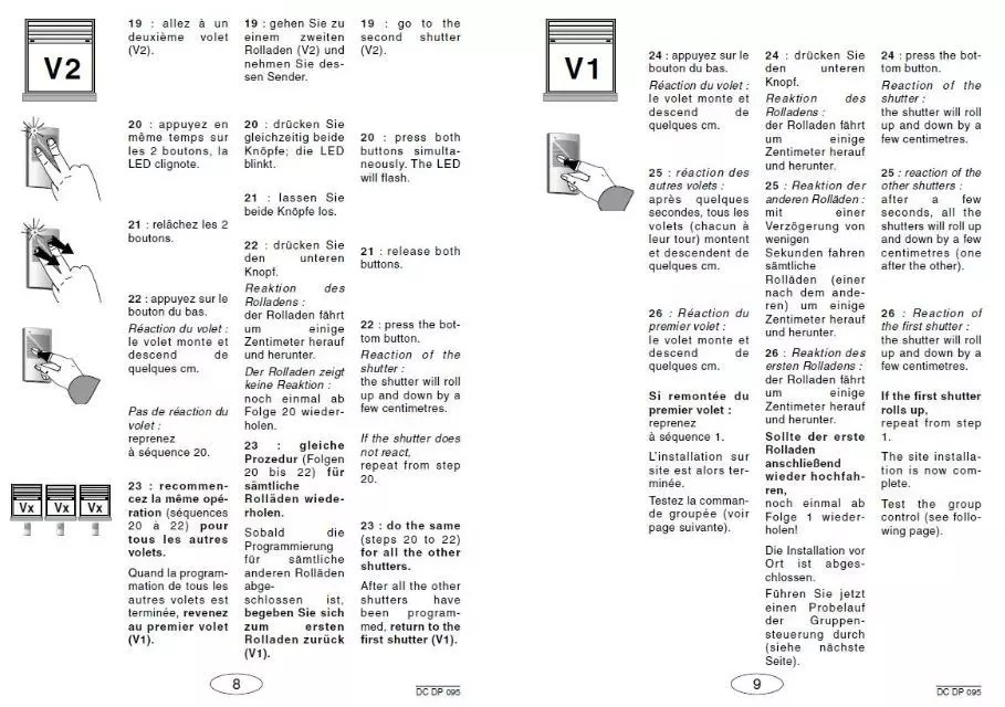 Programmation Volets Id De Bubendorff Forum Motorisation Volets Portails Linternaute Com