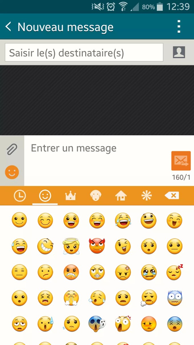 comment installer emoji sur tablette