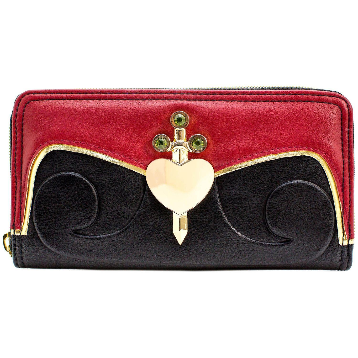 Alice In Wonderland Evil Queen Of Hearts Coin Amp Card