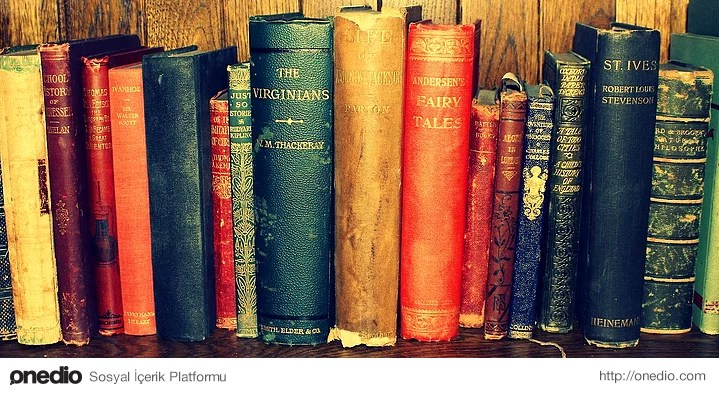 Eski kitaplara ilgi duyarsınız, sizin için eski kitaplar sanki yaşlanmış bilgin birer insandırlar.