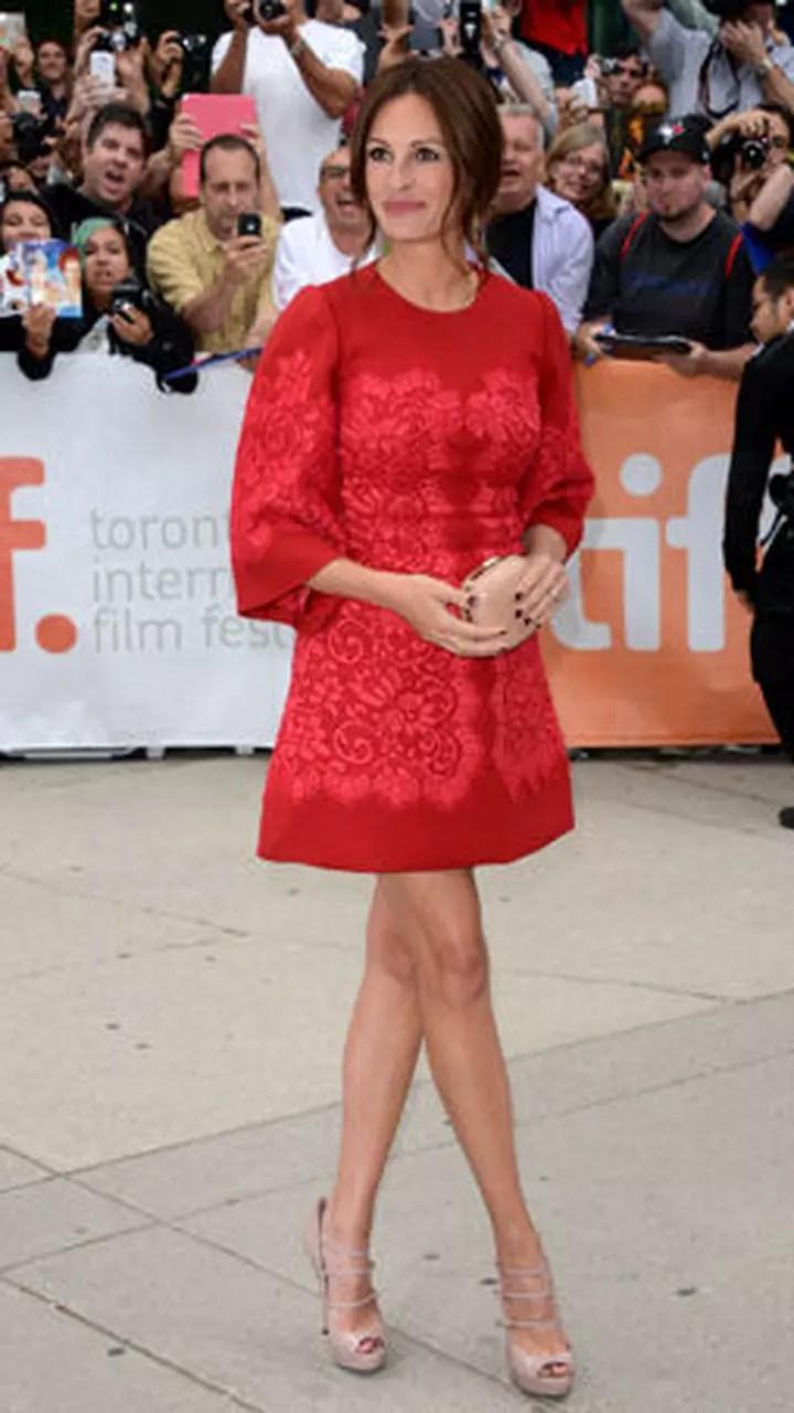 julia roberts sur le tapis rouge