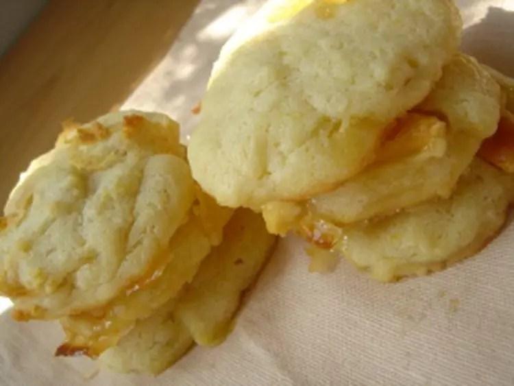 cookies caramelises au chocolat blanc