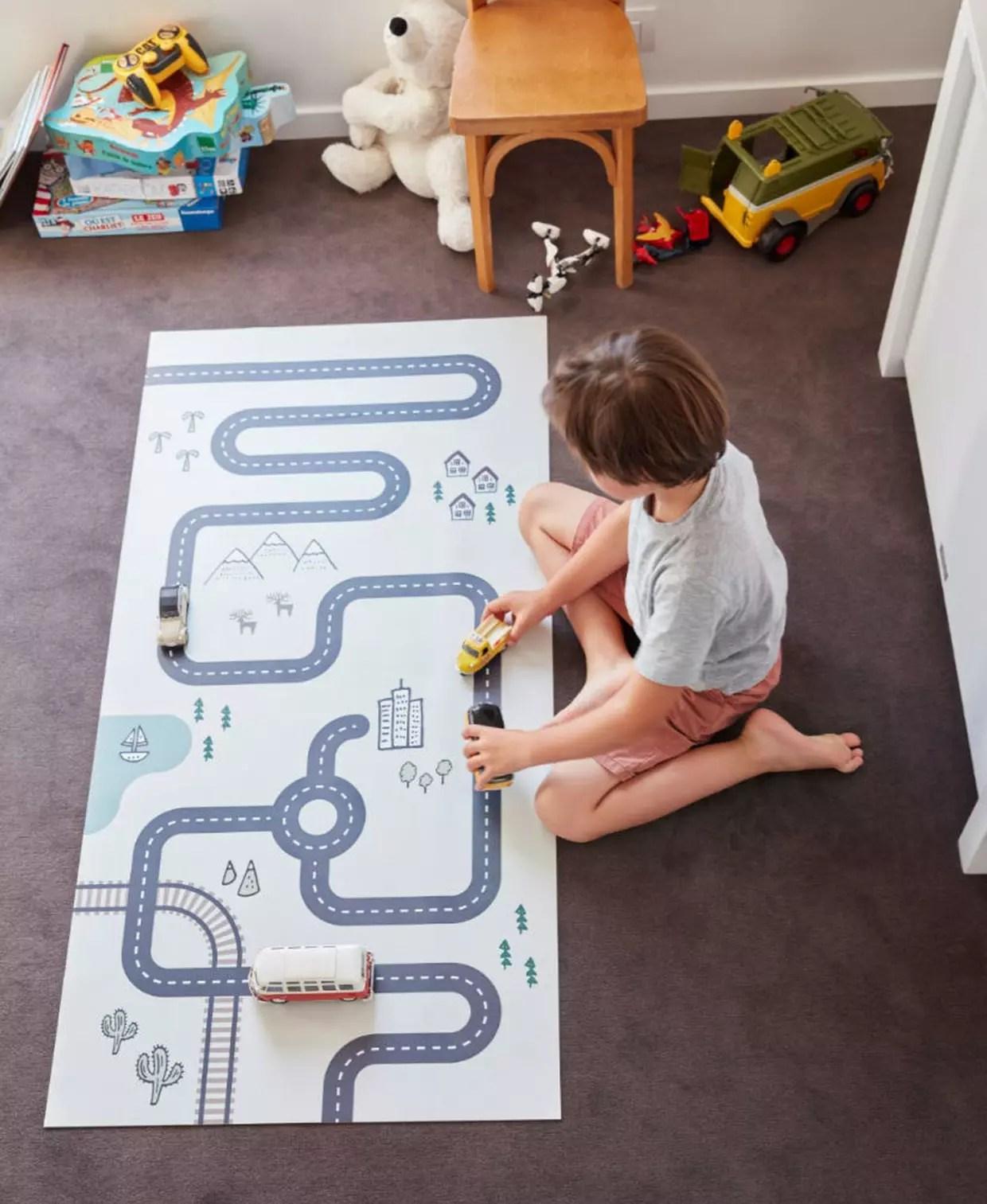 tapis circuit par saint maclou