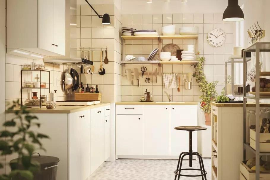 rangement de la cuisine meubles
