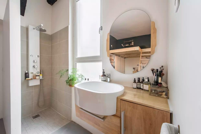 salle de bains en bois tout pour une piece d eau boisee