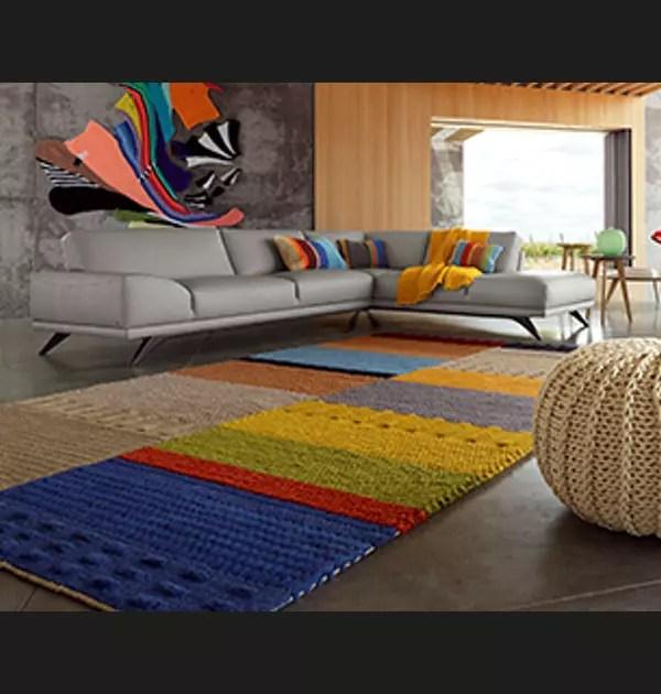 tapis tricotin roche bobois