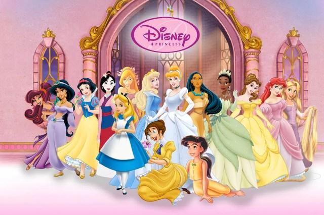 Coloriage Princesse Disney sur Hugolescargot.com
