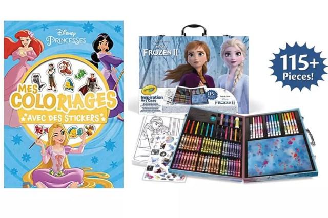 Cahier de coloriages Disney : les meilleurs pour votre enfant