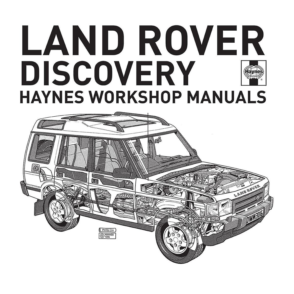 Haynes Workshop Manual Land Rover Discovery Black