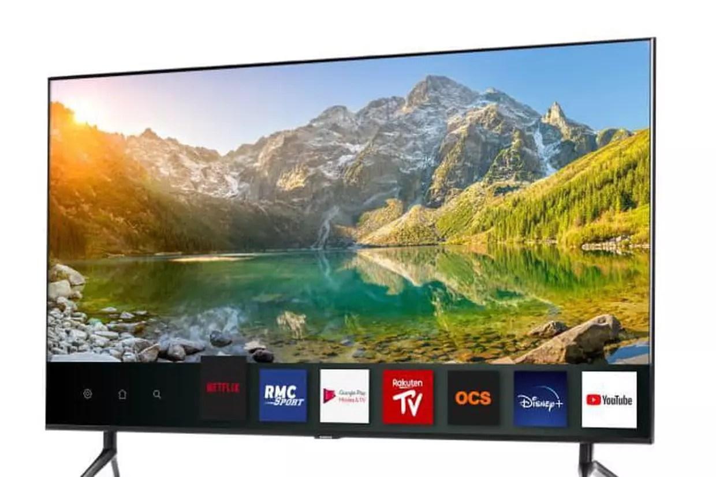 bon plan soldes tv une tv 4k samsung