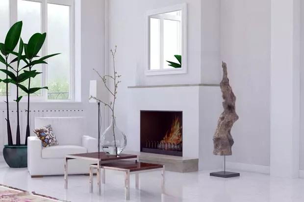 placer un miroir au dessus de la cheminee